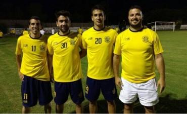 Los equipos de Adelia, de pre-temporada y con caras nuevas.