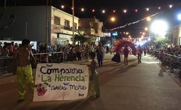 Exitosa primera noche de Carnavales