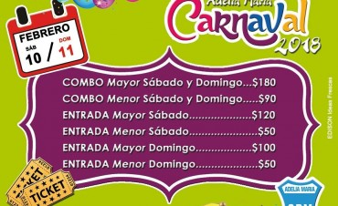 Arrancan los carnavales del Club Deportivo Municipal