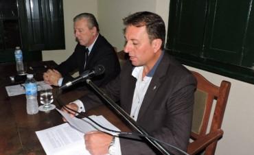 El Intendente Rezza inauguró las Sesiones del Concejo