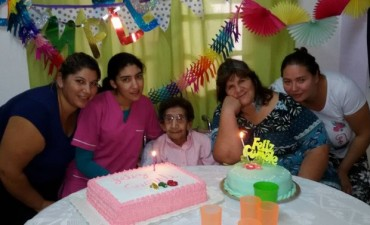 La Abuela Pascuala festejó 116 años