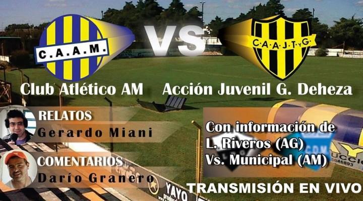 El domingo a las 16 juegan los clubes locales