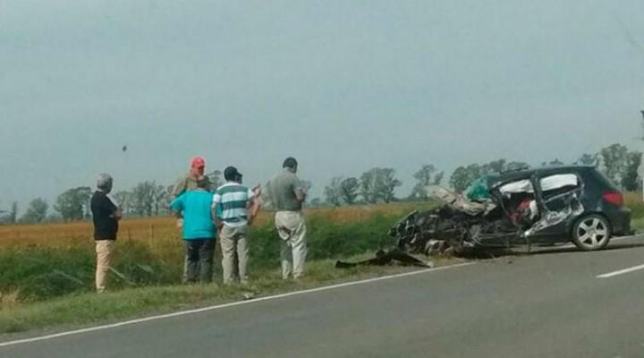 Falleció un joven adeliamariense en accidente de tránsito en Malena