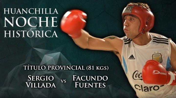 Boxeo en Huanchilla con dos Títulos provinciales en disputa