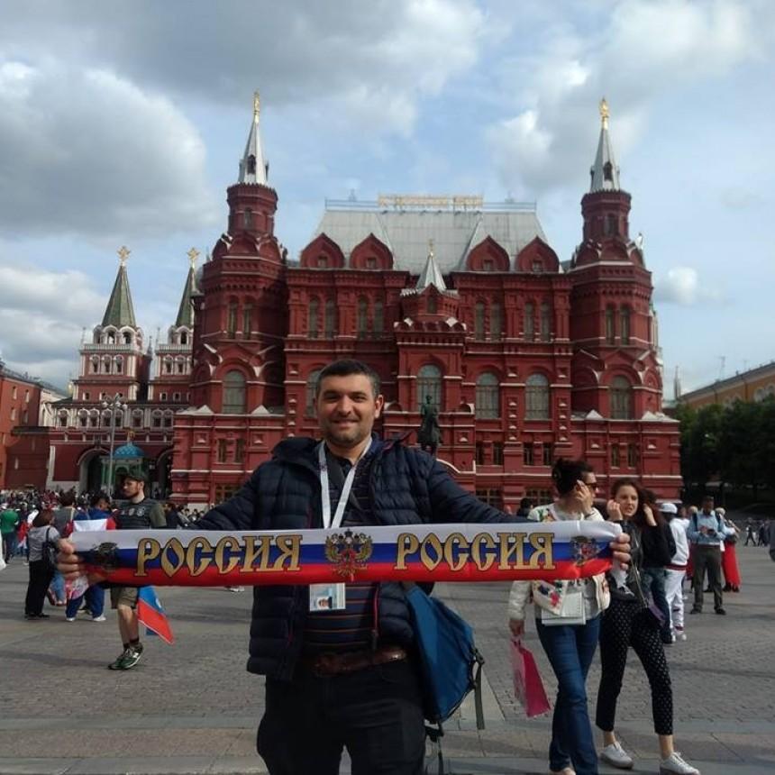 Sergio Tatta ya se encuentra en Moscú