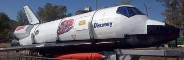 El simulador de vuelo espacial llegó a Adelia María