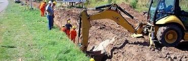 Comenzaron los trabajos de la Obra del Acueducto Ruta 4 – Adelia María