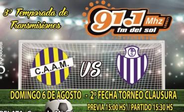 Hoy se juega la Fecha 3 del Clausura de la L.R.F.R.C.