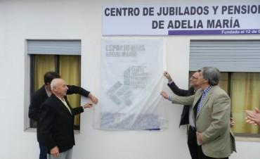 INAUGURARON OBRAS EN EL CENTRO DE JUBILADOS