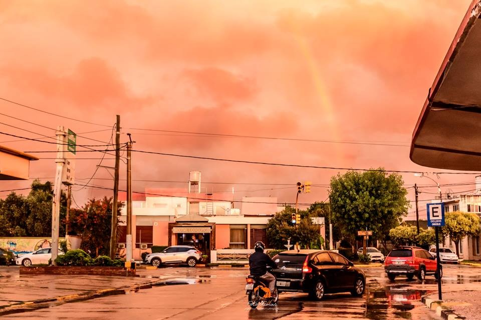 Intensas lluvias en Adelia María
