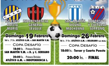 """Atlético Adelia María organiza la Copa """"Desafío del Sur"""""""