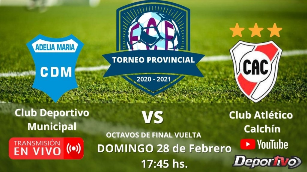 MUNICIPAL VS ATL. CALCHÍN POR YOUTUBE