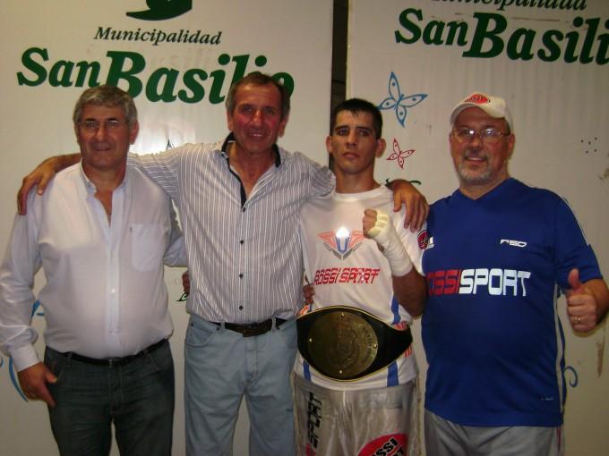 Walter Gazán se consagró Campeón Provincial en San Basilio