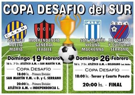 San Martín de Mackenna ganador de la Copa Desafío del Sur