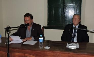 El Intendente Rezza inauguró el Período de Sesiones del Concejo