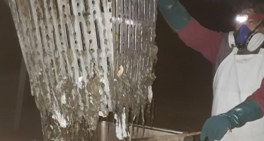 Inadecuado uso del sistema de saneamiento en Adelia María