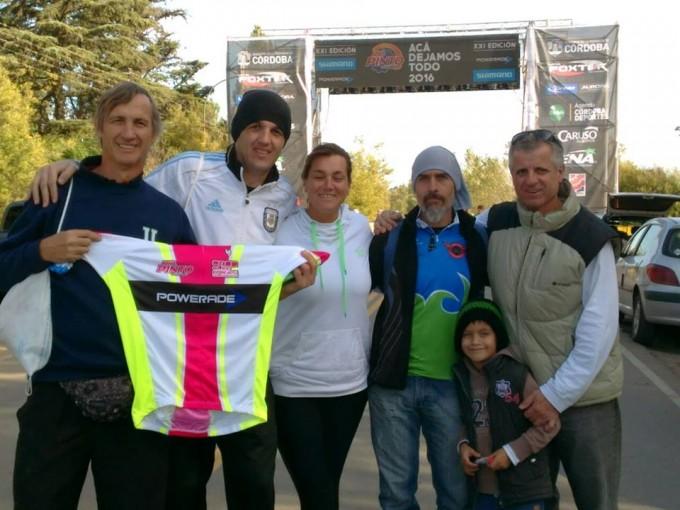 Cinco Adeliamarienses desafiaron al Río Pinto