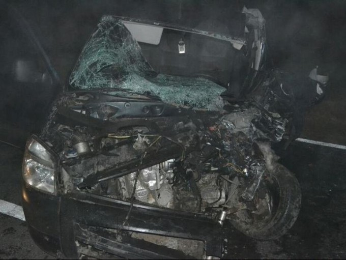 Un muerto y dos heridos graves por un choque cerca de Vicuña Mackenna