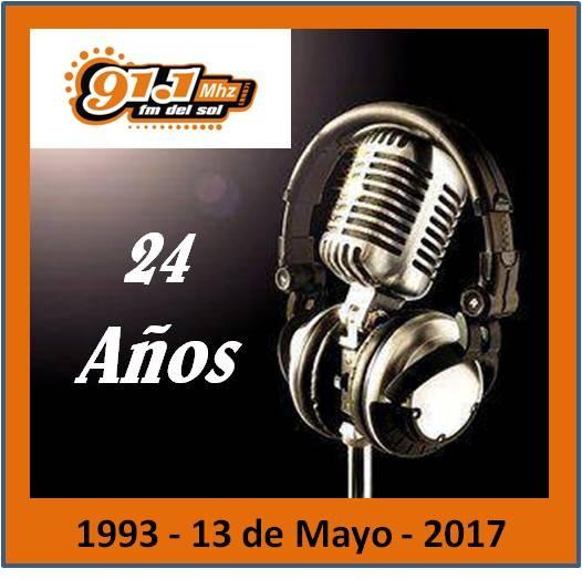 Cumplimos 24 años de Radio