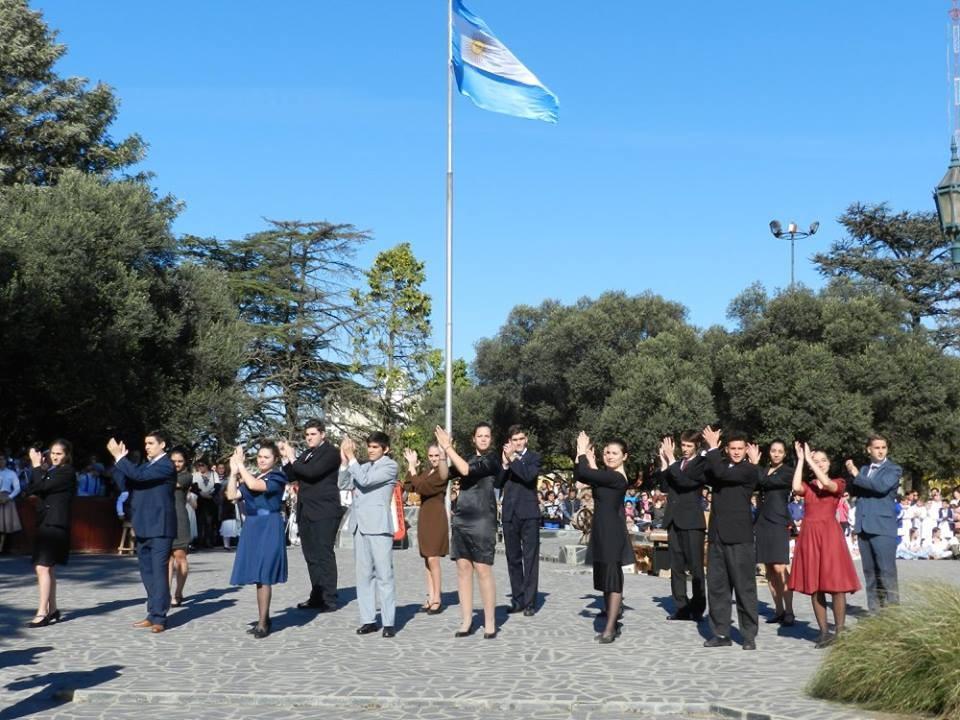 El Instituto Adelia María celebró el 25 de Mayo junto a toda la Comunidad