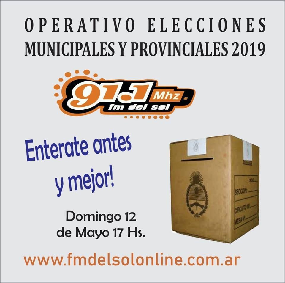 Elecciones 12 M. Toda la Cobertura en la 91.1 FM del sol