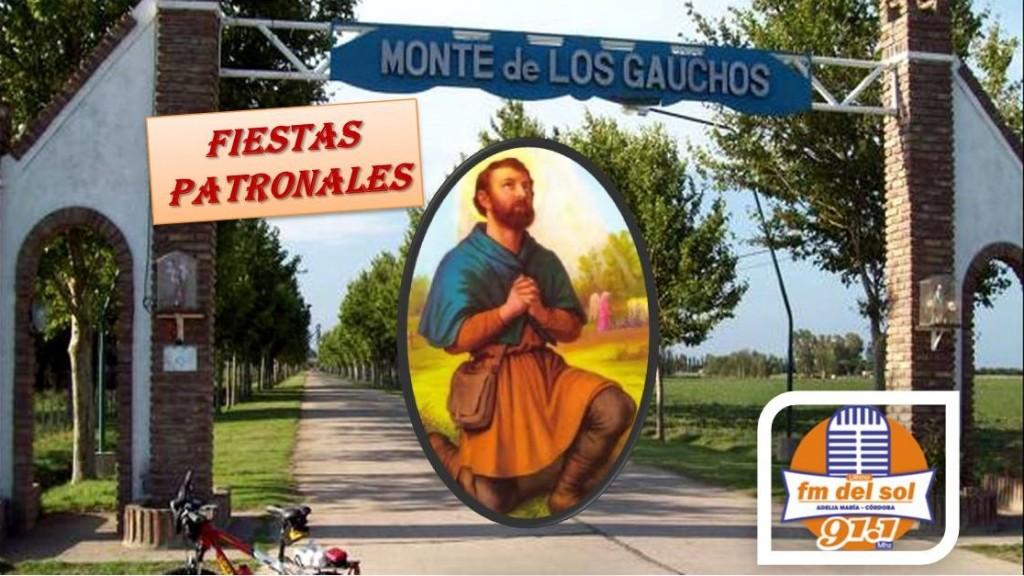 Monte de los Gauchos vive su Fiesta Patronal