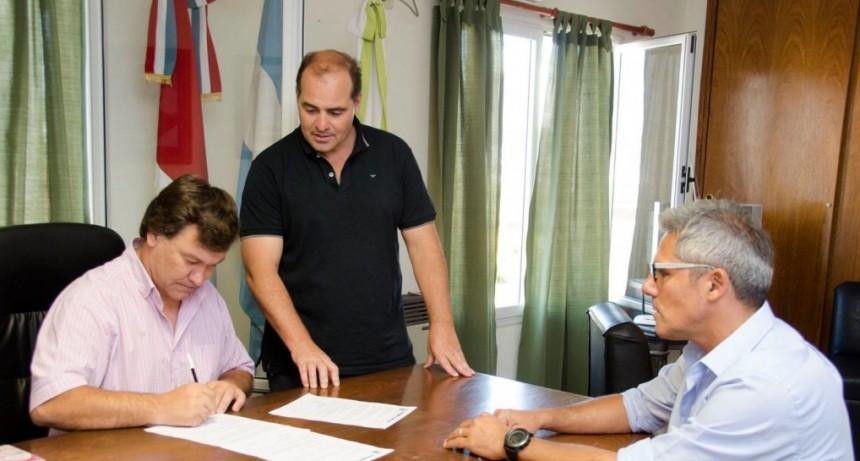 La Municipalidad avanza en proyectos de desagües pluviales