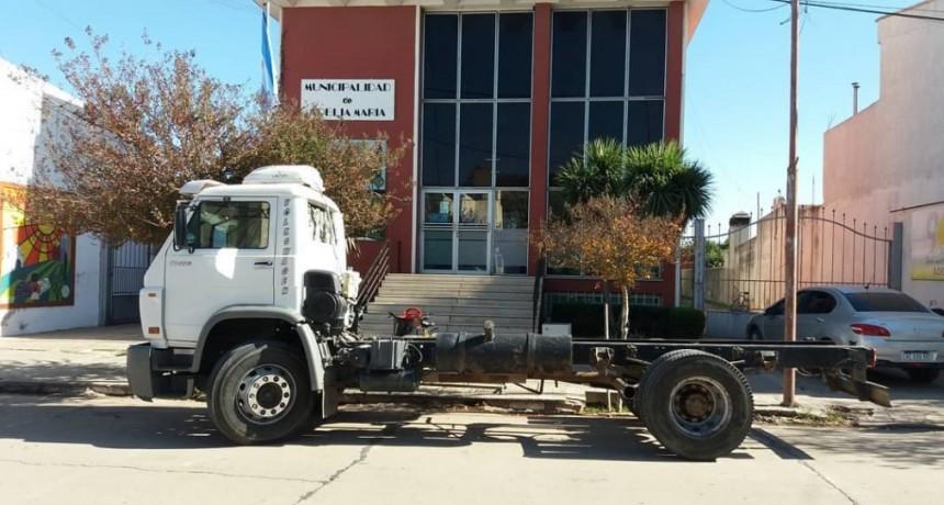 El Municipio adquirió camión para regador