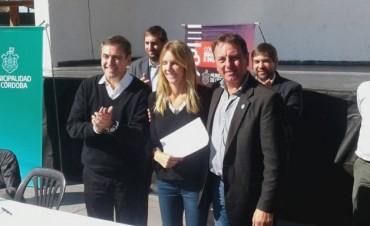 Adelia María: firman convenio por $20 millones para la obra de cloacas