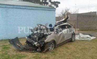 Ruta 4 – Huanchilla: hombre murió tras violento choque entre camión y un auto