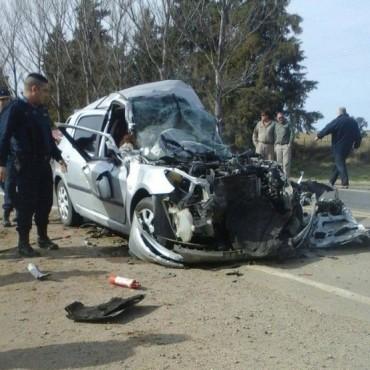 Matrimonio de Huanchilla gravemente herido tras choque en Monte de los Gauchos
