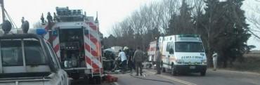 Falleció el conductor del Vehículo accidentado en Monte.