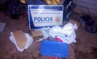 Secuestran cerca de tres kilos de droga en la localidad