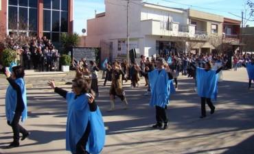 Adelia María festejó el Bicentenario de la Independencia