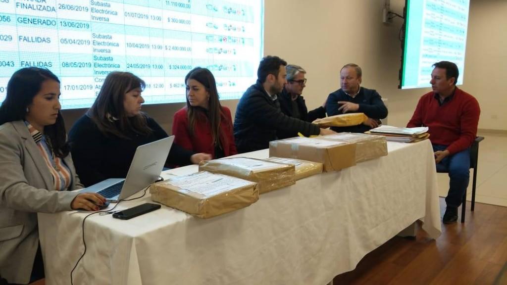 APERTURA DE SOBRES POR ESTACIONES DE BOMBEO DEL ACUEDUCTO