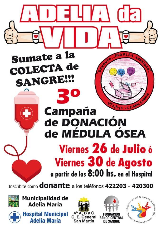 Tercera campaña de donación de Médula Ósea