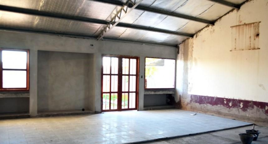 CONSTRUCCIÓN DE SALA EN EL JARDÍN DE INFANTES RIVADAVIA