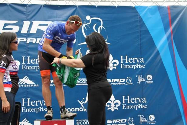 El ciclista local Sergio Rolando triunfó en Panamá