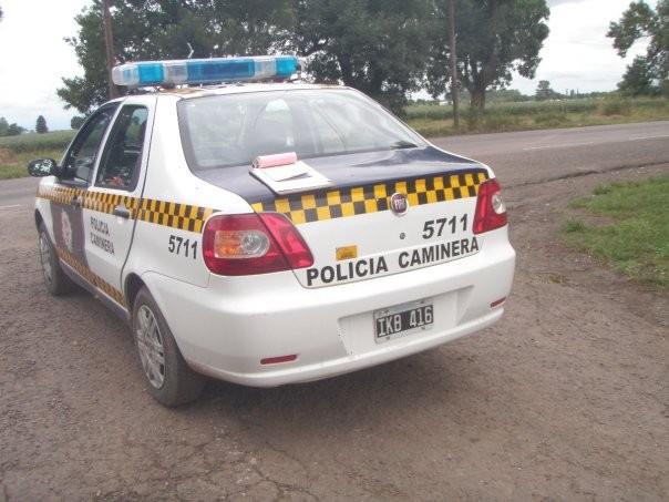 Accidente entre dos camionetas en la ruta