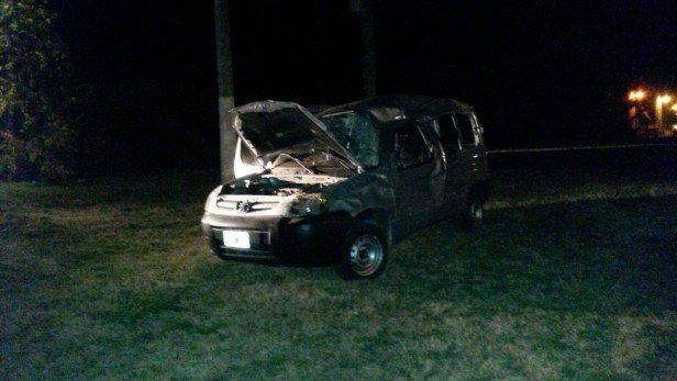 Accidente en la Ruta 24: Dos lesionados