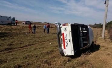 Murió un vecino de Adelia María al volcar su camioneta en una curva