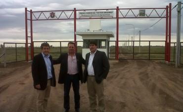 El Secretario de Agricultura visitó el Predio de depósitos de agroquímicos