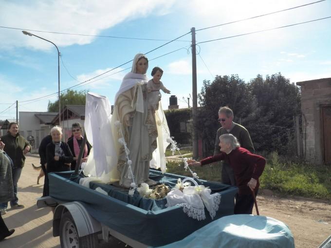 Se vive la Fiesta Patronal en Honor a Nuestra Señora de la Merced.