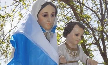 Adelia María ya vive su Novena Patronal en honor a la Virgen de la Merced.