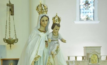 La Virgen de La Merced bendijo a la localidad en una gran expresión de fe