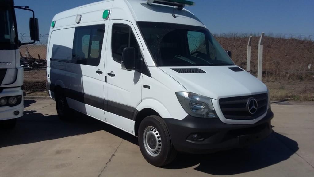 Nueva ambulancia para Adelia María
