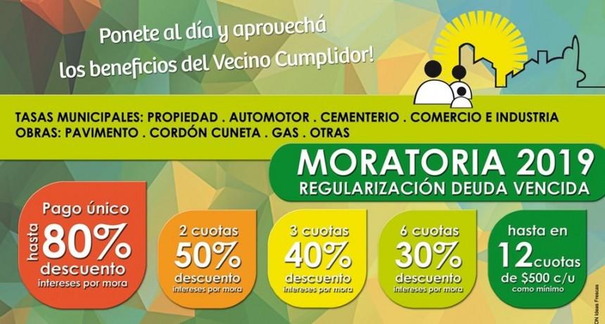 Lanzan nueva moratoria para regular pago de tasas e impuestos municipales