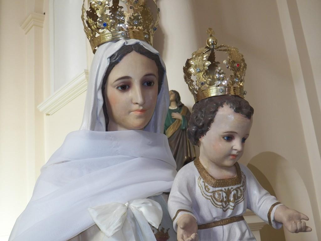 Se desarrolla la novena en honor a Nuestra Señora de la Merced