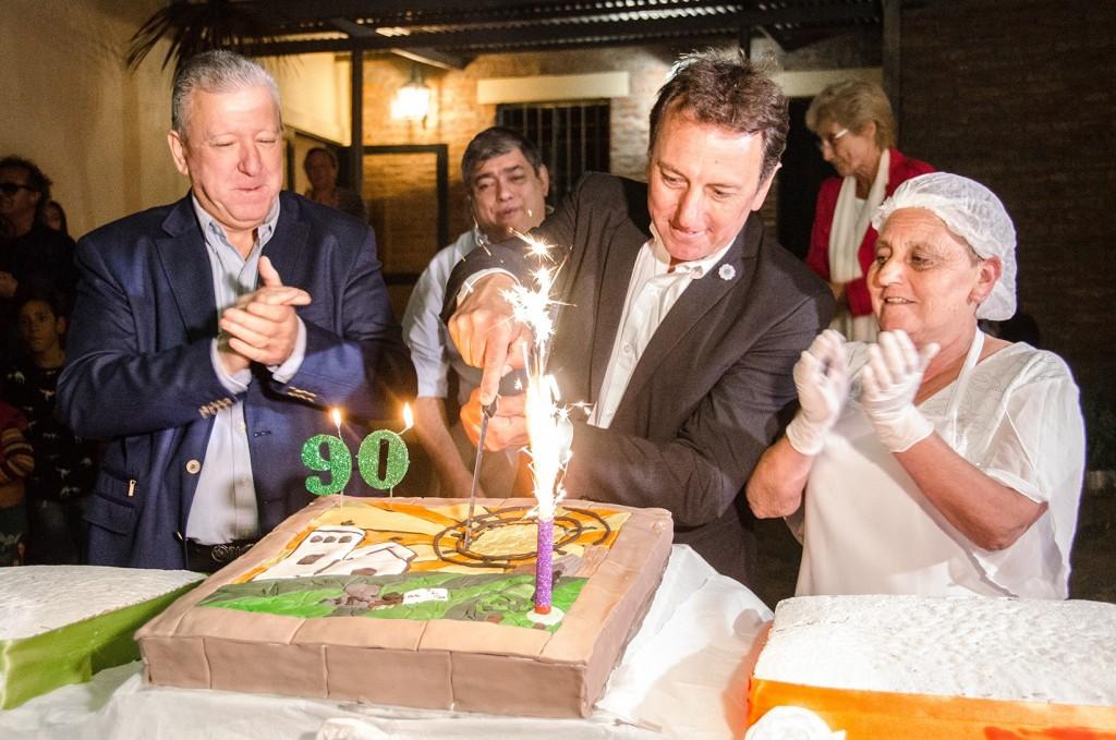 Adelia María festejó los 90 años con un acto multitudinario