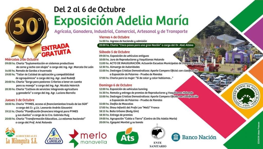 Comienza la 30° Exposición de la Sociedad Rural de Adelia María